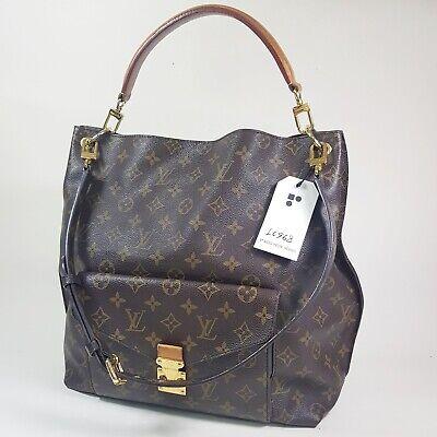 Authentic Louis Vuitton Metis Monogram M40781 Genuine Guaranteed Shoulder LC968