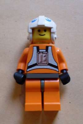 Lego Star Wars Dack Ralter Figur Rebellen Pilot orange