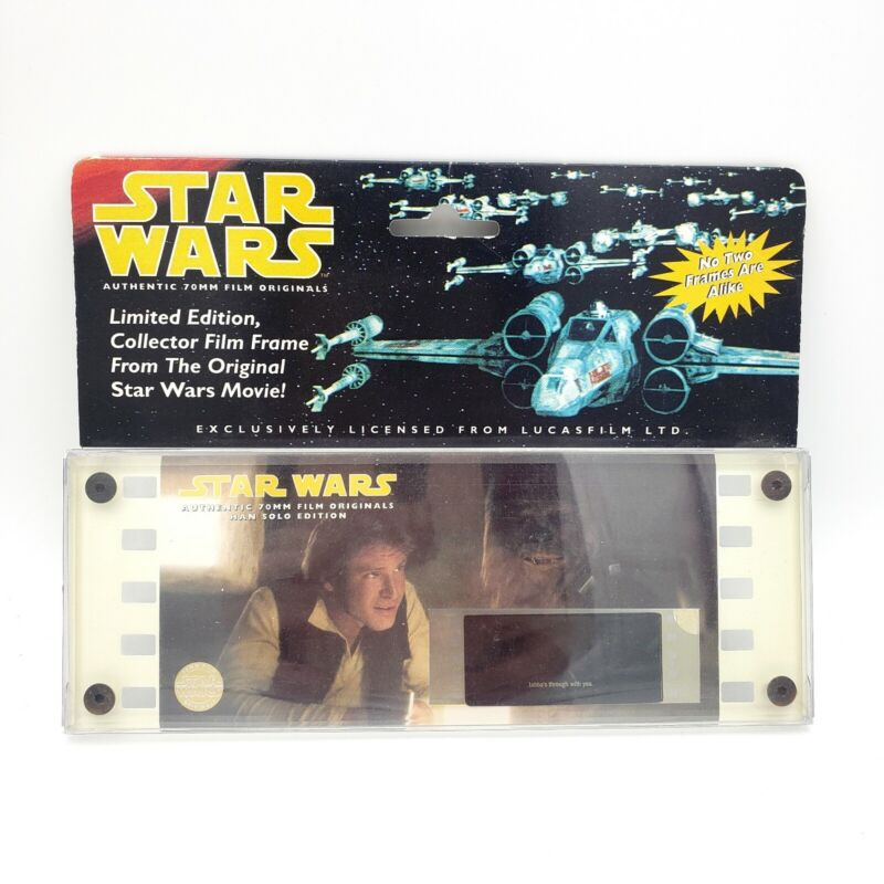 Star Wars Authentic Original 70MM Film Frame Cel Hans Solo Edition 01524 Jabba