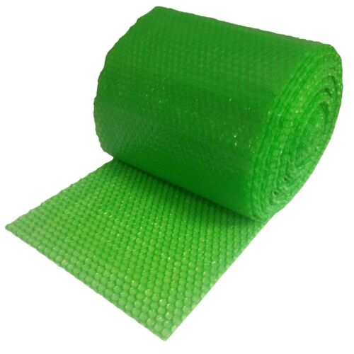 """3/16"""" SH Recycled Small Bubble Cushioning Wrap Padding Roll 100"""