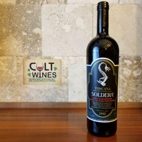V 97 pts! 2008 Case Basse di Gianfranco Soldera Toscana wine, Italy