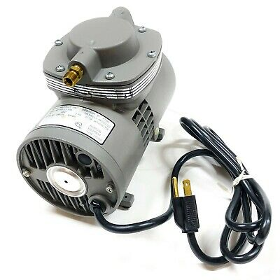 Thomas Industries 115hp Diaphragm Vacuum Pump 4z792a
