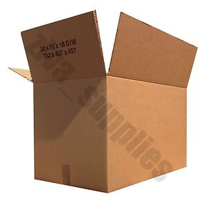 Packing boxes strong large corrugated storage house move for Used boxes for moving house