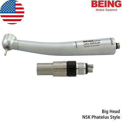 Us Being Dental Turbine High Speed Handpiece Nsk Phatelus Quick Coupling 4 Holes
