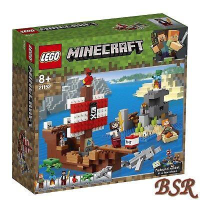 Lego Minecraft: 21152 El Piratenschiff-Abenteuer & Envío & Nuevo & Emb.orig