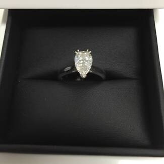 RARE PEAR-CUT DIAMOND - CAN BE RE-SET TO ADD YOUR OWN STYLE! Brisbane City Brisbane North West Preview