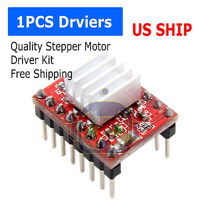 1pcs A4988 Stepper Motor Driver Module Reprap 3d Printer Pololu Stepstick Us