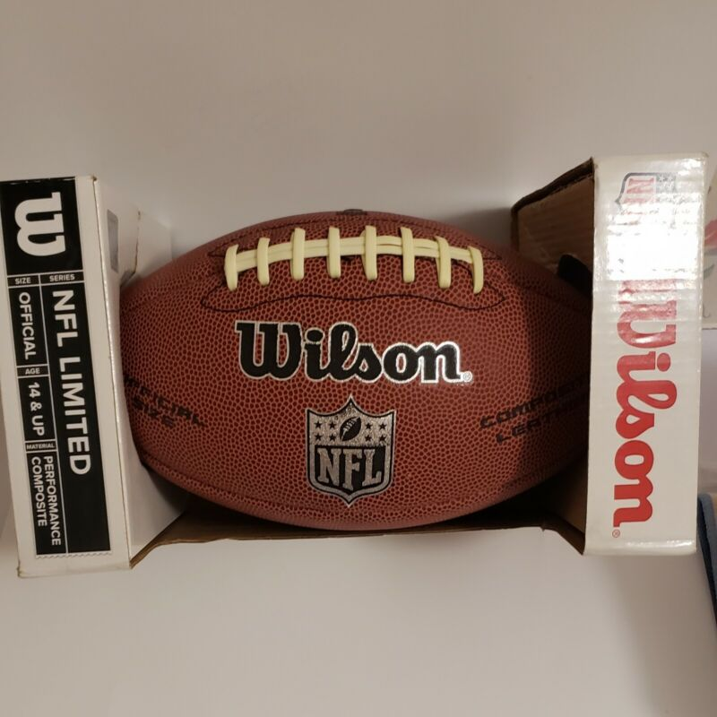 NFL limited series wilson football, Brand new.Official size, performance...