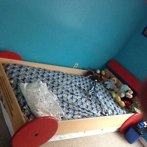 Twin size car bed! Wooden