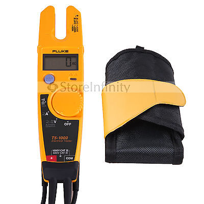 Fluke T5-1000 Voltage Continuity Current Electrical Tester With Holster
