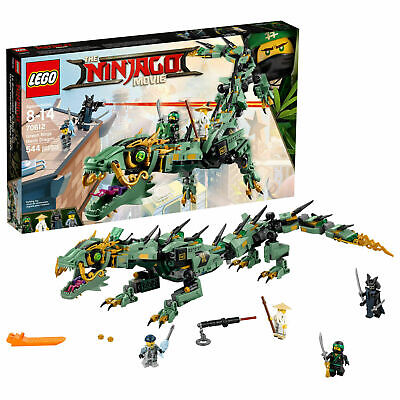 The LEGO Ninjago Movie 70612 Green Ninja Mech Dragon - Factory Sealed Brand NEW