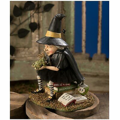 Bethany Lowe How Find A Prince Witch Toad Retro Halloween Home Decor Figurine