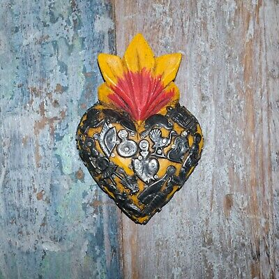 Mexican Milagro Heart Decoration Mini Q