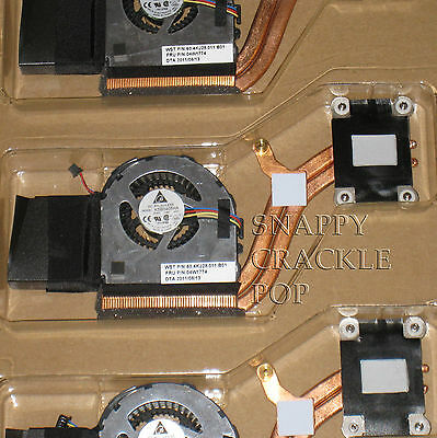 N IBM Lenovo ThinkPad X220 X220t X220i Tablet Heat Sink CPU Cooler Fan Assembly  for sale  Shipping to India