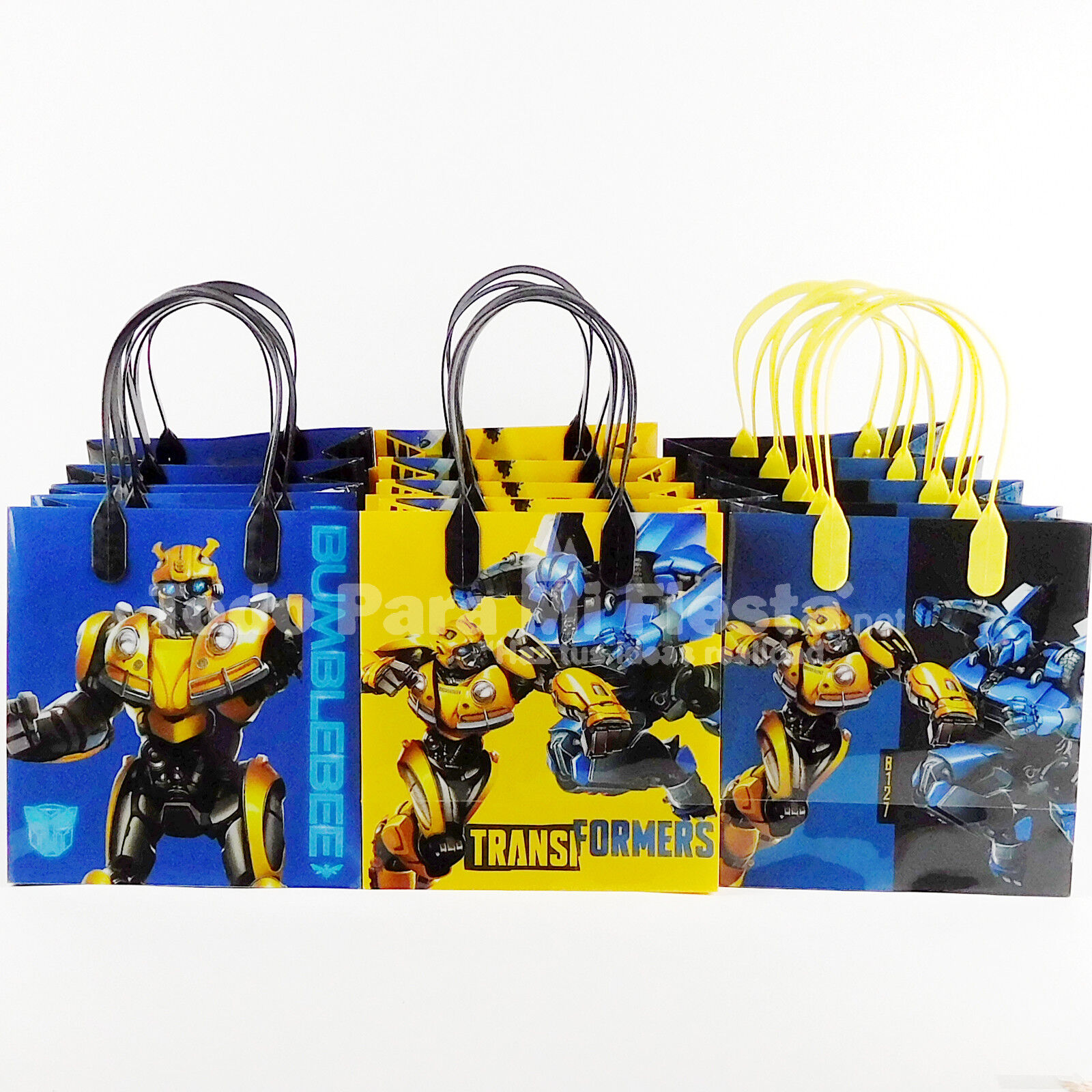 transformers birthday goody gift loot favor bags