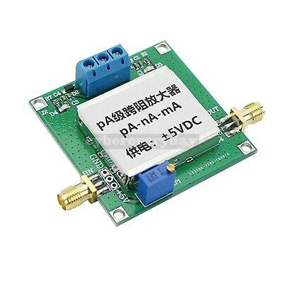Pa Level Transimpedance Amplifier For Weak Current Iv Conversion Preamp V2.0 Dt5