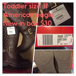Size 11 toddler girl boots NEW