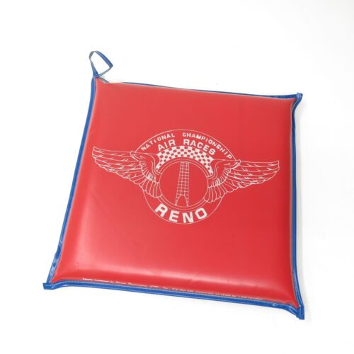 Vtg National Championship Air Races Reno Nevada Seat Bleacher Cushion Kiwanis