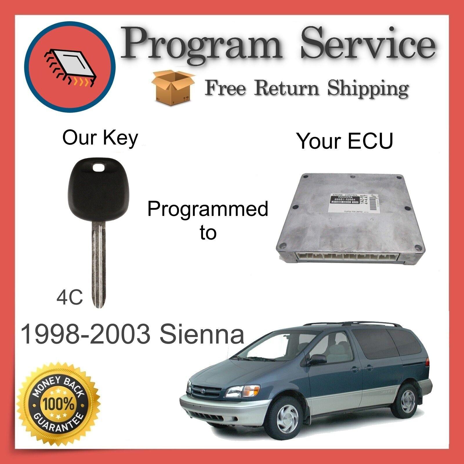 ✅ ECU KEY PROGRAM | Toyota Sienna 1999 2000 2001 2002 2003 99 00 01 02 03