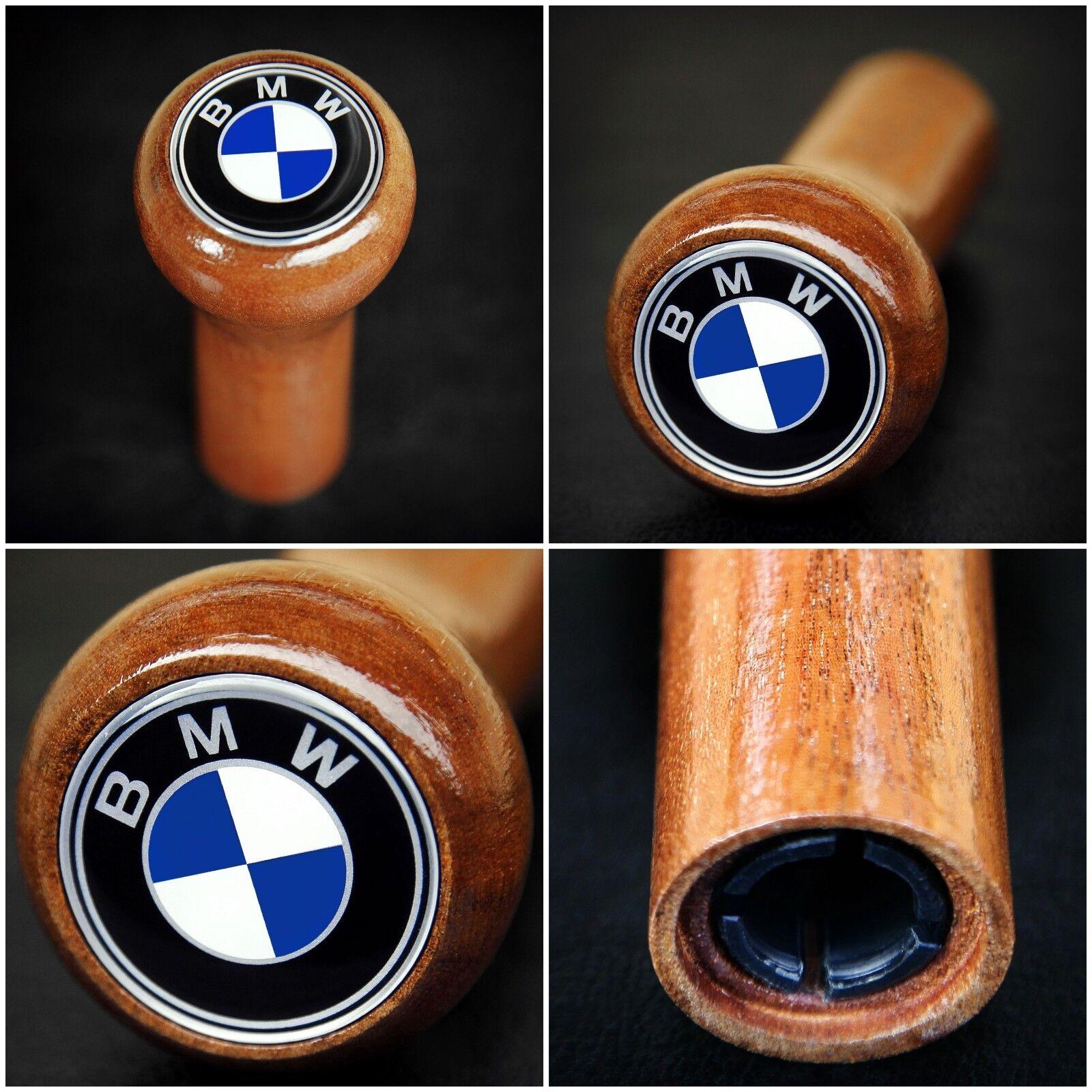BMW E36 Schaltknauf Schaltknopf Holz Leder