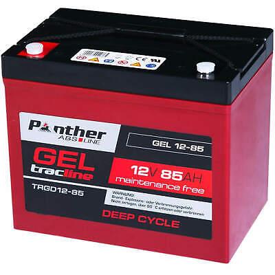 Panther GEL Bleiakku 12V 85Ah Akku DeepCycle Batterie statt 70Ah 72Ah 79Ah 80Ah