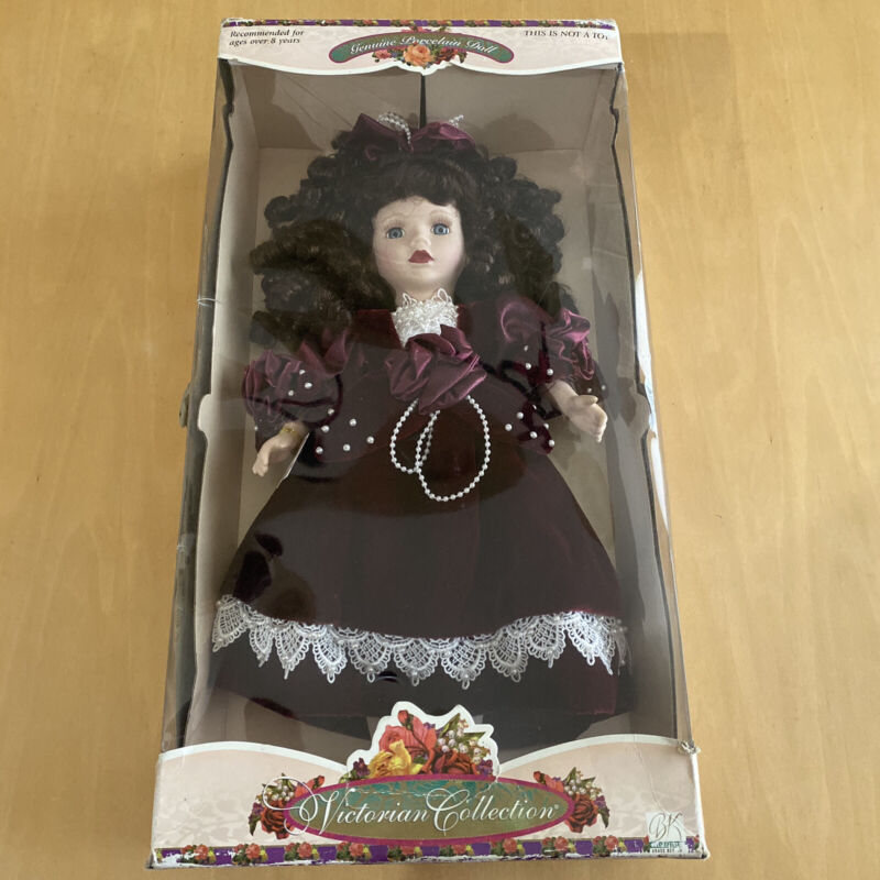 brass key victorian porcelain dolls
