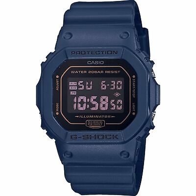 Casio G-Shock Origins Digital Quartz Blue Mens Watch DW-5600BBM-2ER RRP £99.90