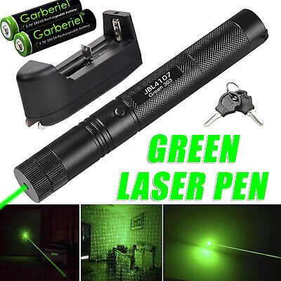 900 Miles 1mw Green Laser 303 Pointer Pen Visible Beam Light Battery Charger