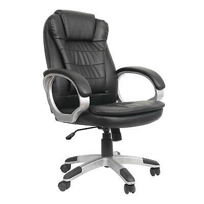 Bürostuhl Schreibtischstuhl Kunstleder Chefsessel Drehstuhl Höhenverstellbar