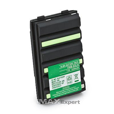 2200Mah Battery Ft Yaesu Fnb V57 Fnb 83 Ft 60 Vx 150 Vx 160 Vx 180 Vx 800 Ft 250