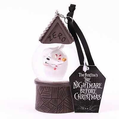 Nightmare Before Christmas Zero Mini Snowglobe Ornament Disney Parks