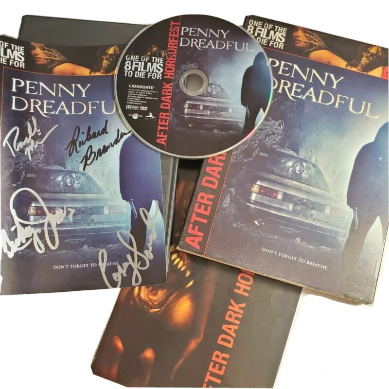 Penny Dreadful DVD Signed By Cast Rachel Miner And 3 Others