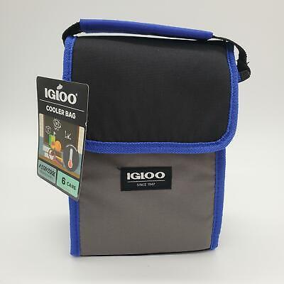 Igloo Cooler Bag Lunch Box  Zipper Blue