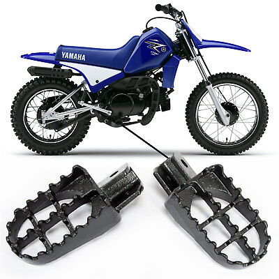 MOTORCYCLE REPLACEMENT FOOTRESTS  <em>YAMAHA</em> PW 50 PW 80 87 09 CHILDRENS P