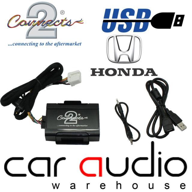 Connects2 CTAHOUSB001 Honda Civic 2001> USB & Aux In Car Interface Adaptor