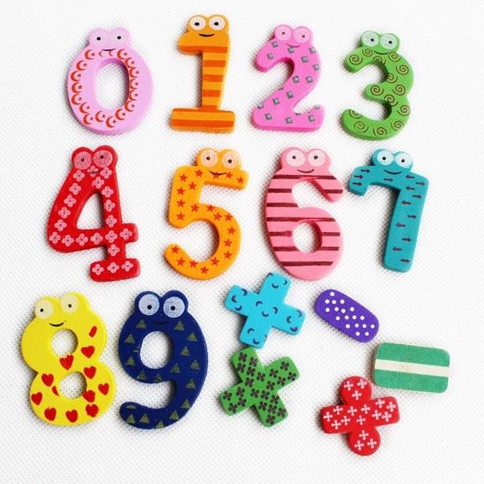 Details about Animation Cartoon animals Wooden Fridge Magnets Kids