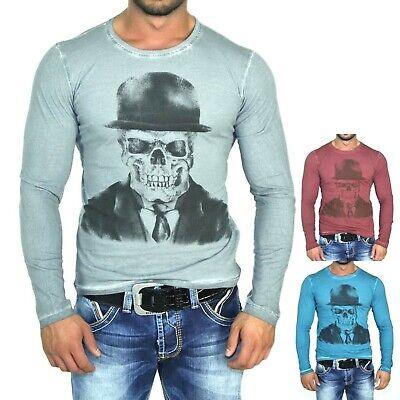 RUSTY NEAL DENIM HOODIE SWEATSHIRT LONGSHIRT PETROL LONGSLEEVE 5331 NEU Denim Long Sleeve Sweatshirt