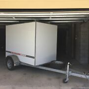 CUSTOM BUILT BOX TRAILER WITH BUILT-IN RAMP Indooroopilly Brisbane South West Preview