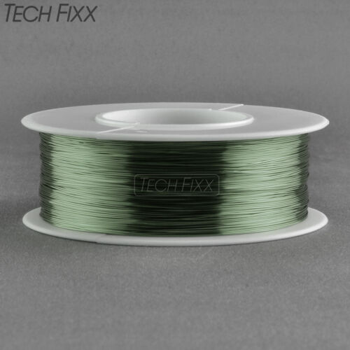Magnet Wire 34 Gauge AWG Enameled Copper 1970 Feet Coil Winding 155C Green