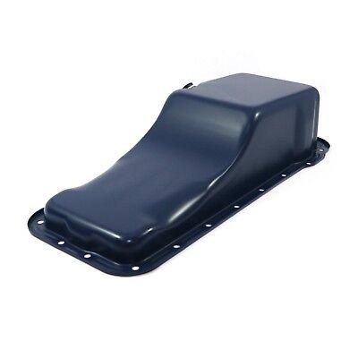 Stock Capacity Blue Oil Pan Front Sump - 352 390 406 427 428 Ford FE Big Block
