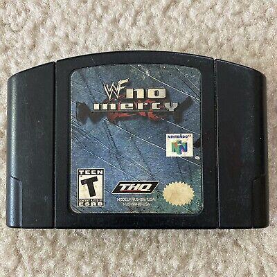 WWF No Mercy Wrestling (Nintendo 64, 2000) Genuine N64 Nintendo 64 WF