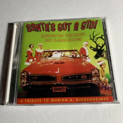 Santa s Got A GTO Rodney On The ROQ s Christmas CD Like New Rare - $33.00