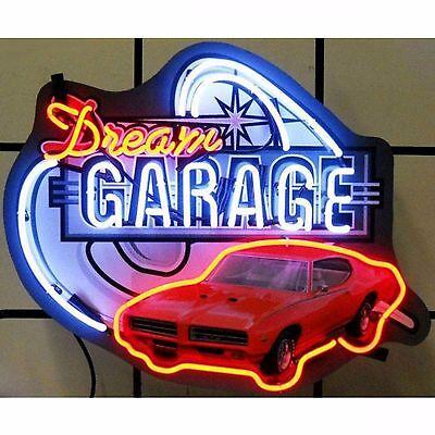 Dream Garage GTO Neon Sign 5DGGTO Pontiac w/ FREE Shipping