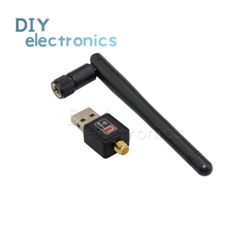 Liobaba USB WiFi Antenna Wireless Network Card USB 2.0 150mbps 802.11b//g//n