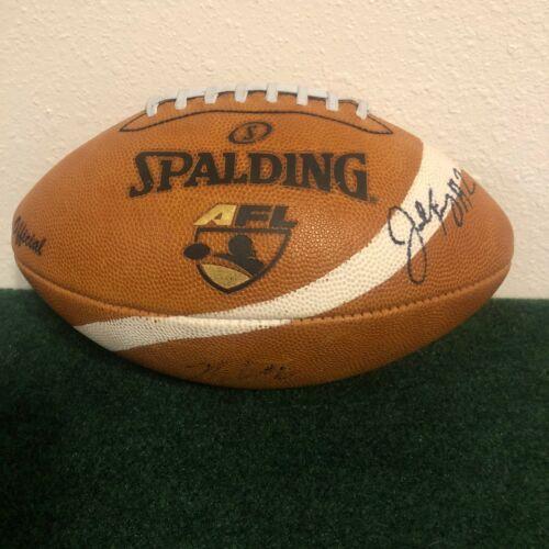 RARE! 2010-2015 Arena Football League AFL Official Game Ball WHITE Stripe KURZ!