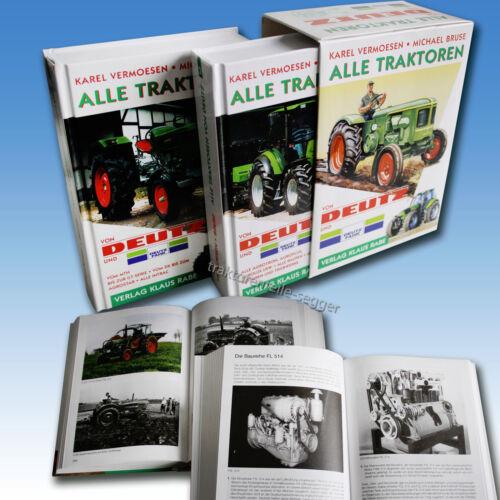 Alle Traktoren von Deutz Typenkompass Doppelband 414er Baureihe bis Agrotron Foto 1