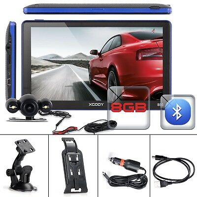 Xgody 886 7 Car Auto Gps Navigation Unit 8Gb With Wired Reverse Backup Camera