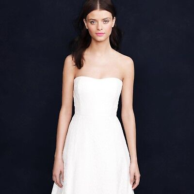 J.Crew Laura Lace Wedding Gown Size 4 Style number 66785
