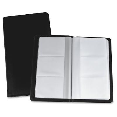 Lorell Business Card Storage Holder - 0.7 X 4.8 X 7 - Vinyl Plastic - 1 Each