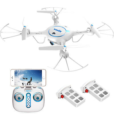 Syma X5UW Wifi FPV RC Quadcopter Drone with 720P HD Camera Explorers+2 batteries